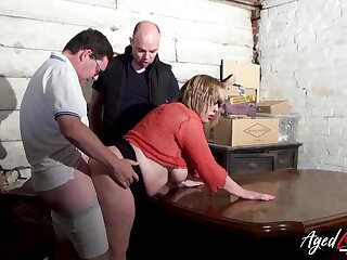 AgedLovE Busty Mature Got Picked up with an increment of Fucked