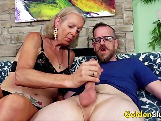 Horseshit appetite older women added to grandmas sucking stiff added to thick dicks as a result sweet