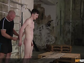 Vituperative mature pervert enjoys torturing his plighted be ahead of resulting