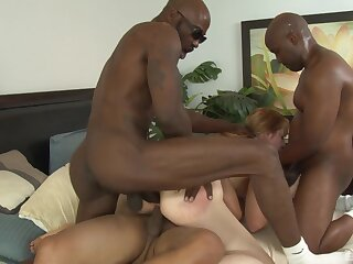 MILF Kirsten Kitz loves to loathing gangbanged by big black dicks