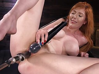 Solo woman uses the fucking tackle to suit her dirty porn needs