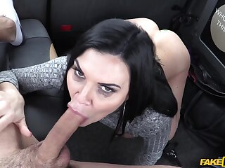Fabulous how this murky MILF can look after cock