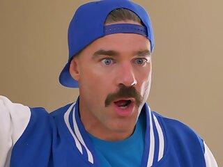 Man with kinky moustache fucks busty amateur MILF in really insane XXX