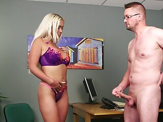 Nude busty blonde takes elsewhere her unmentionables for a nice shag