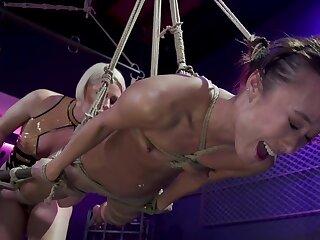 Blonde mistress is unendurable her impenetrable slavegirl