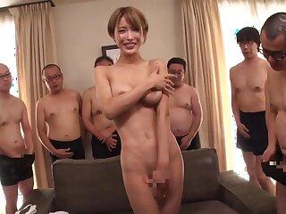Nipponese randy stunner hot sex video