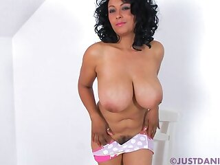 Solo video of dishonest Danica Collins playing anent directors plus the brush pussy